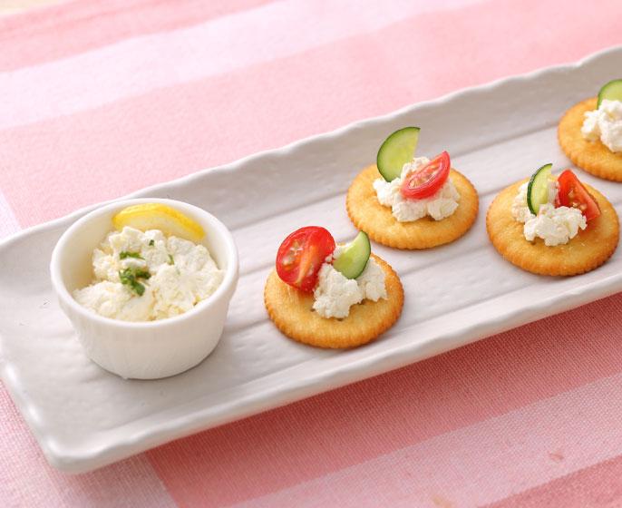 サラダチキンの素 「サラダヨーグルト」でカッテージチーズ風