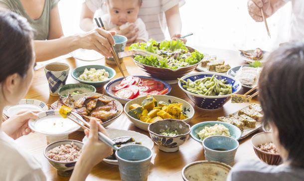 糖質ゼロ・オフで家族と同じ食事を