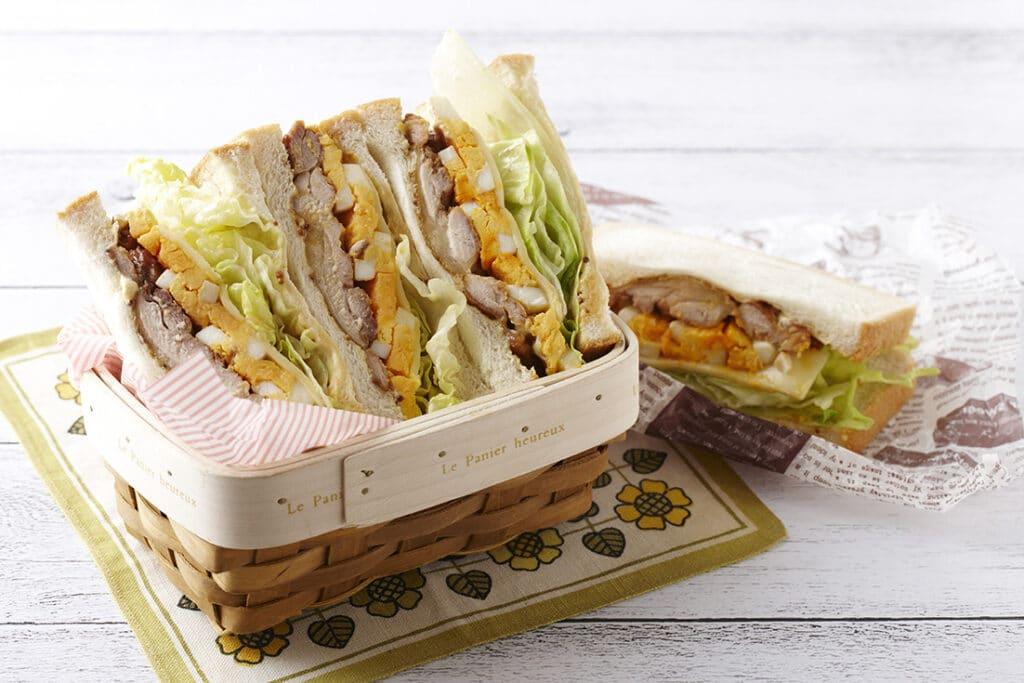 照り焼きチキン サンドイッチ 日の出みりん レシピ