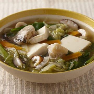 鱈と豆腐のとろとろ煮
