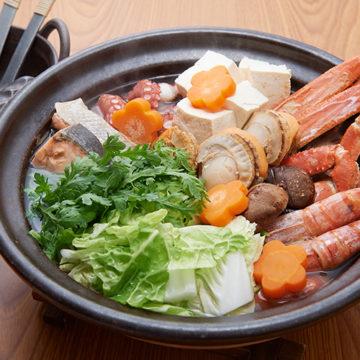 海鮮たっぷり鍋