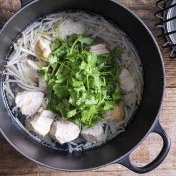 アジアン風とり鍋