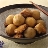 鶏肉と里いもの煮物