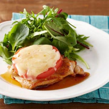照り焼きトマトチーズチキン