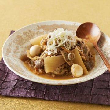 韓国風牛肉と大根の煮込み