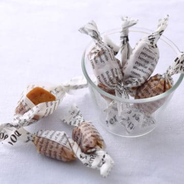 サラダチキンの素×プリン「塩キャラメル風」