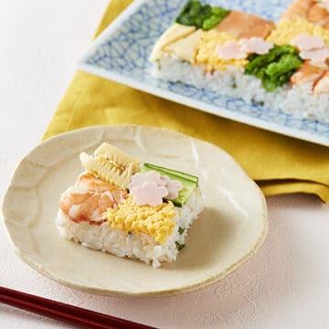 モザイク押し寿司