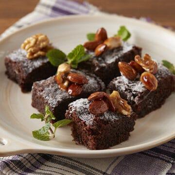 レンチンチョコレートケーキ