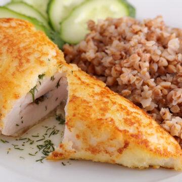 鶏ささみのハーブバターキエフ風カツレツ